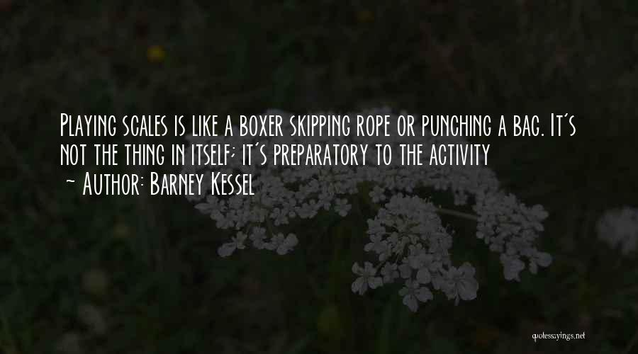 Skipping Rope Quotes By Barney Kessel