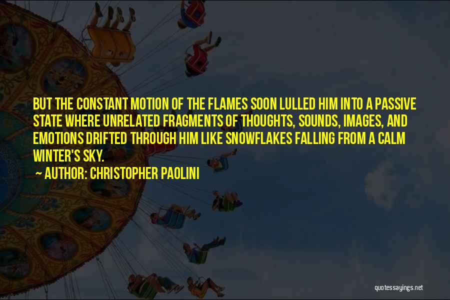 Sky Fire Quotes By Christopher Paolini