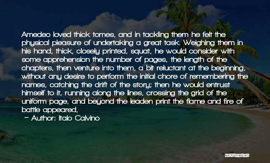 Sky Fire Quotes By Italo Calvino