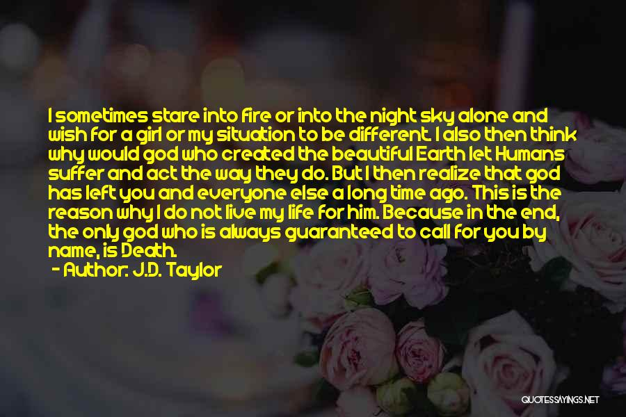 Sky Fire Quotes By J.D. Taylor