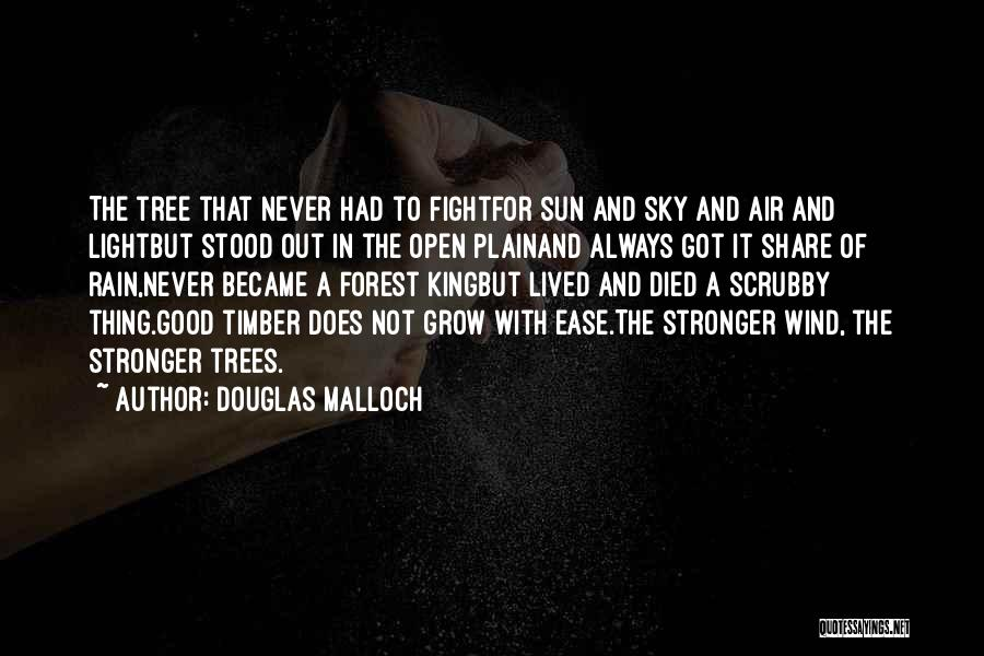 Sky Tree Quotes By Douglas Malloch