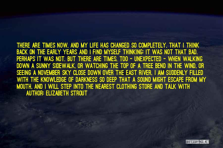 Sky Tree Quotes By Elizabeth Strout