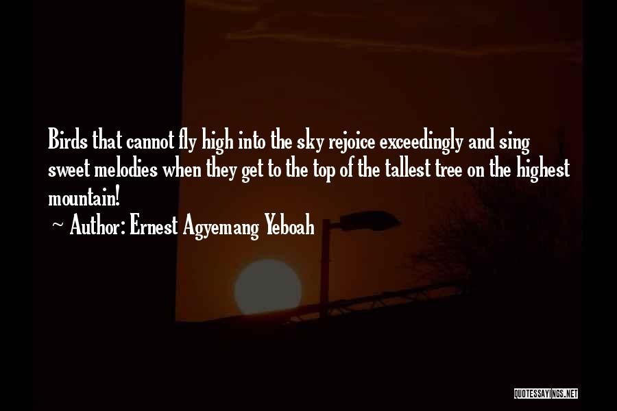 Sky Tree Quotes By Ernest Agyemang Yeboah