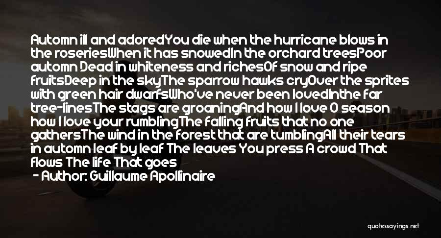 Sky Tree Quotes By Guillaume Apollinaire