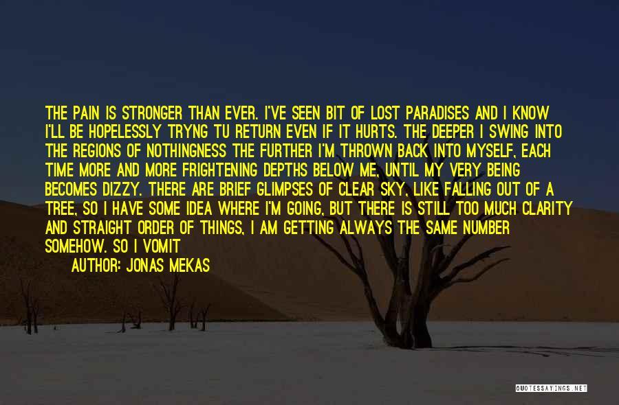 Sky Tree Quotes By Jonas Mekas