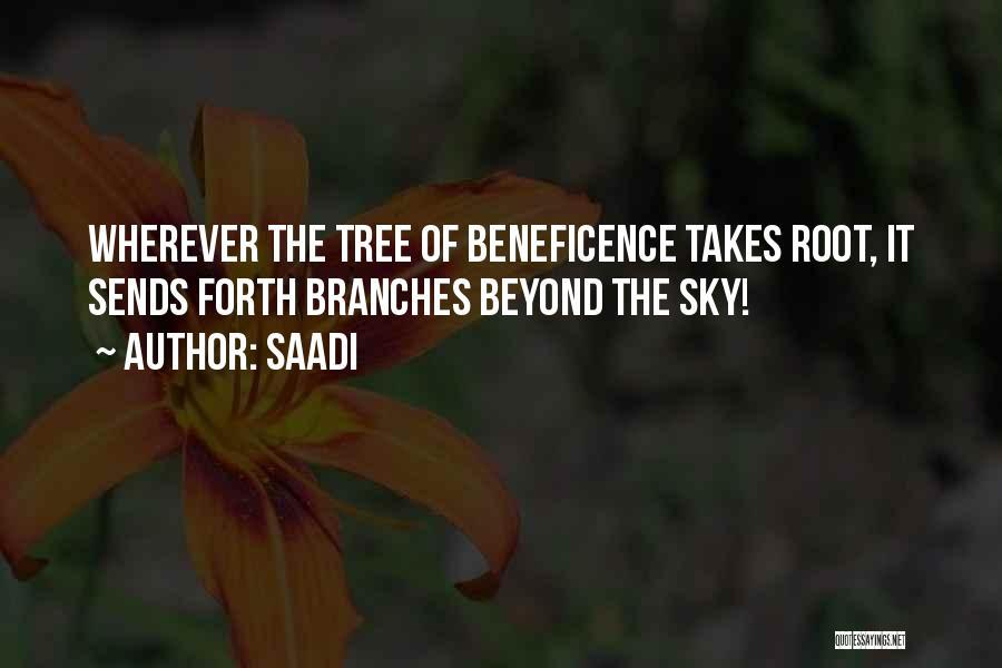Sky Tree Quotes By Saadi