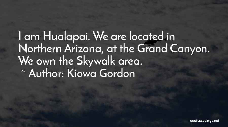 Skywalk Quotes By Kiowa Gordon