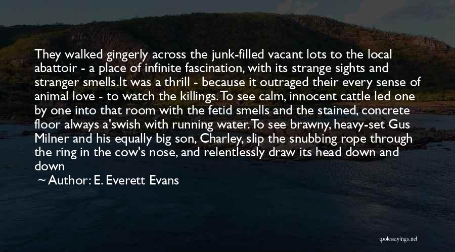 Sledge Quotes By E. Everett Evans