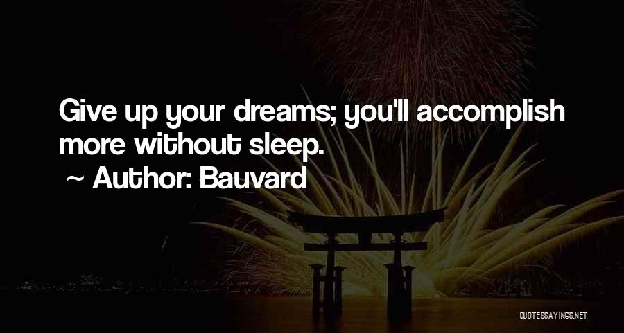 Sleep Funny Quotes By Bauvard