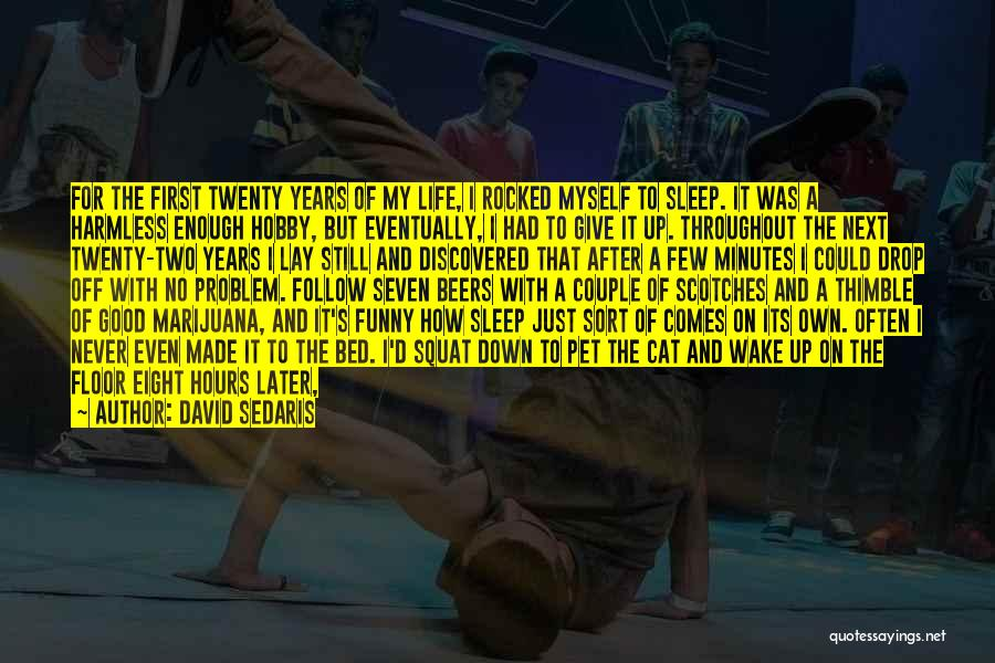 Sleep Funny Quotes By David Sedaris