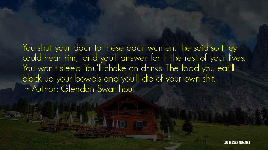 Sleep Funny Quotes By Glendon Swarthout
