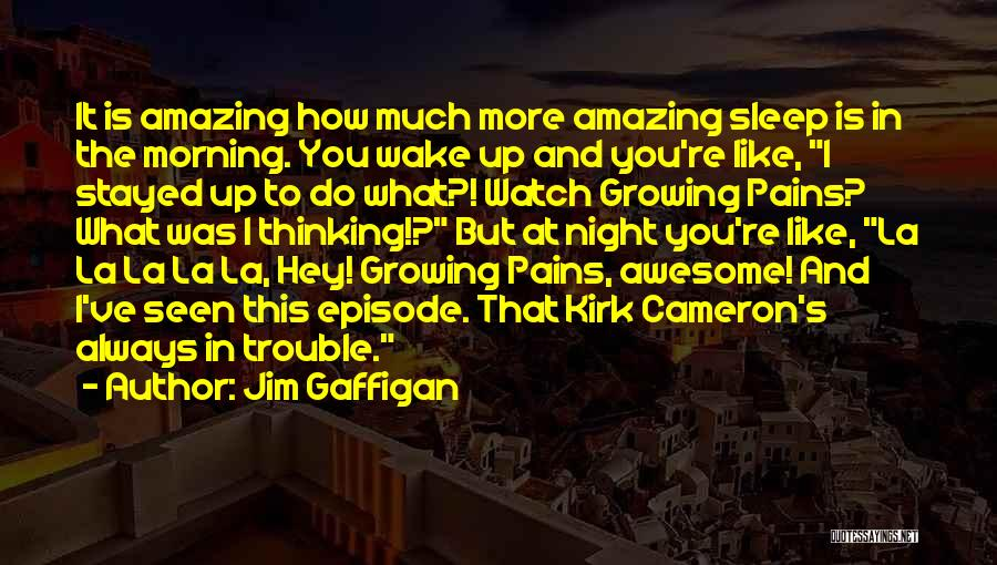 Sleep Funny Quotes By Jim Gaffigan
