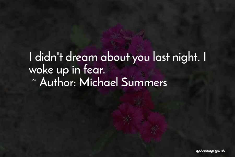 Sleep Funny Quotes By Michael Summers