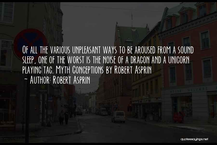 Sleep Funny Quotes By Robert Asprin