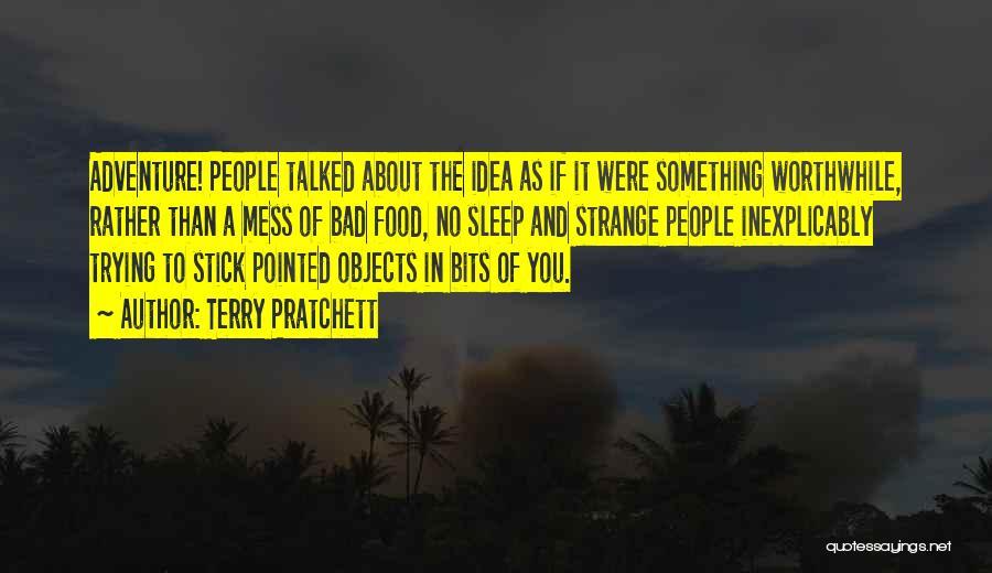 Sleep Funny Quotes By Terry Pratchett