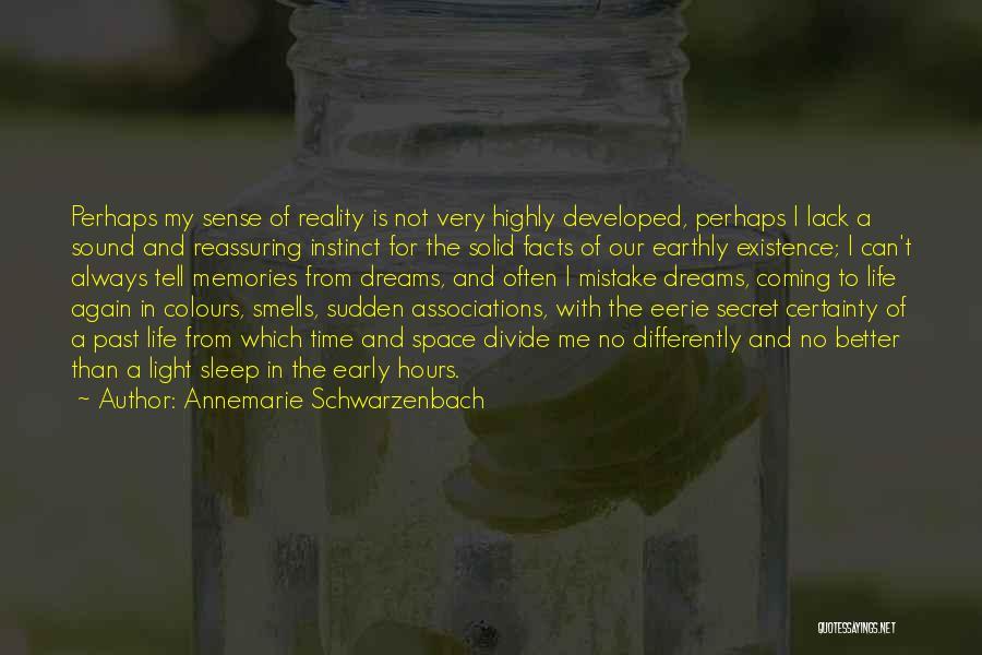 Sleep Time Quotes By Annemarie Schwarzenbach