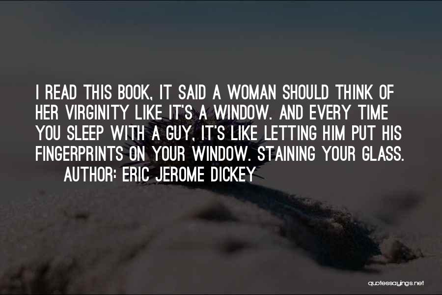 Sleep Time Quotes By Eric Jerome Dickey