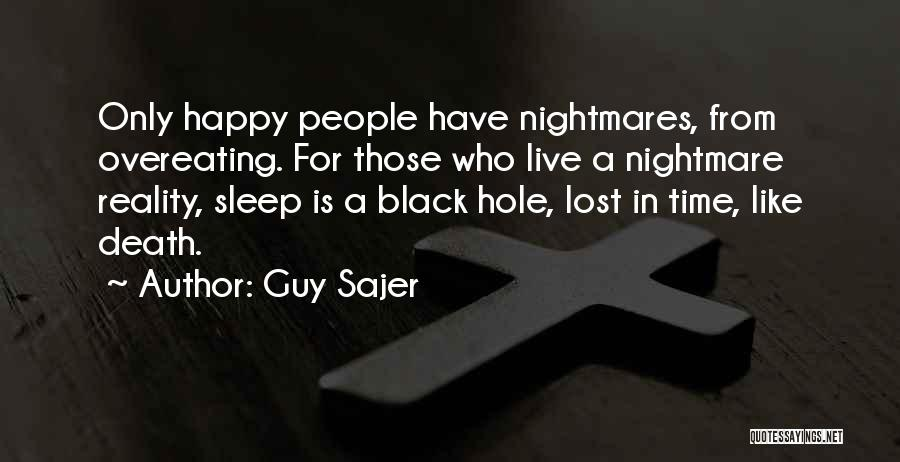 Sleep Time Quotes By Guy Sajer