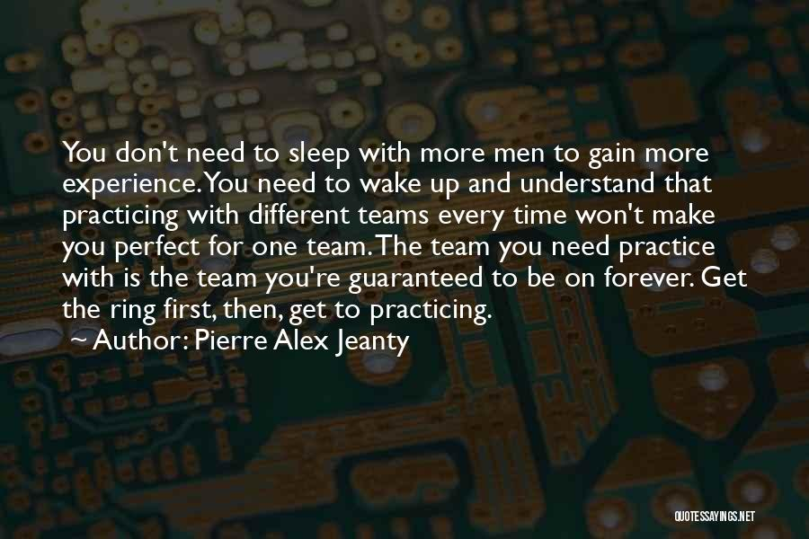 Sleep Time Quotes By Pierre Alex Jeanty