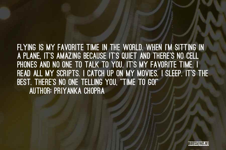 Sleep Time Quotes By Priyanka Chopra