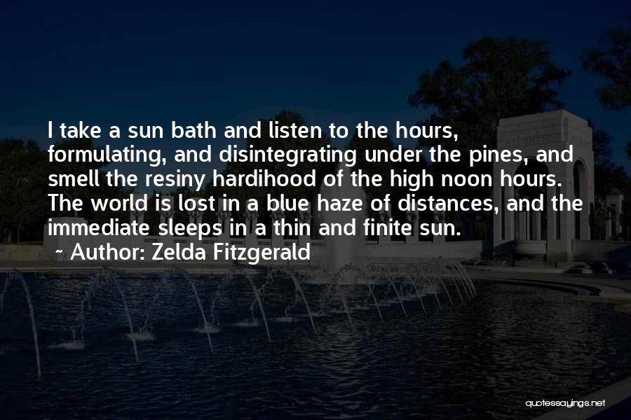 Sleep Time Quotes By Zelda Fitzgerald