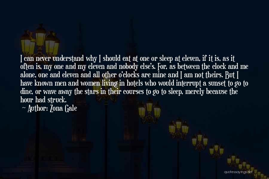 Sleep Time Quotes By Zona Gale