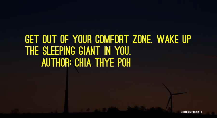 Sleeping Giants Quotes By Chia Thye Poh