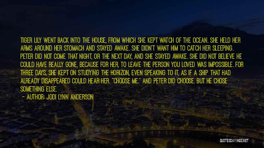 Sleeping In My Arms Quotes By Jodi Lynn Anderson