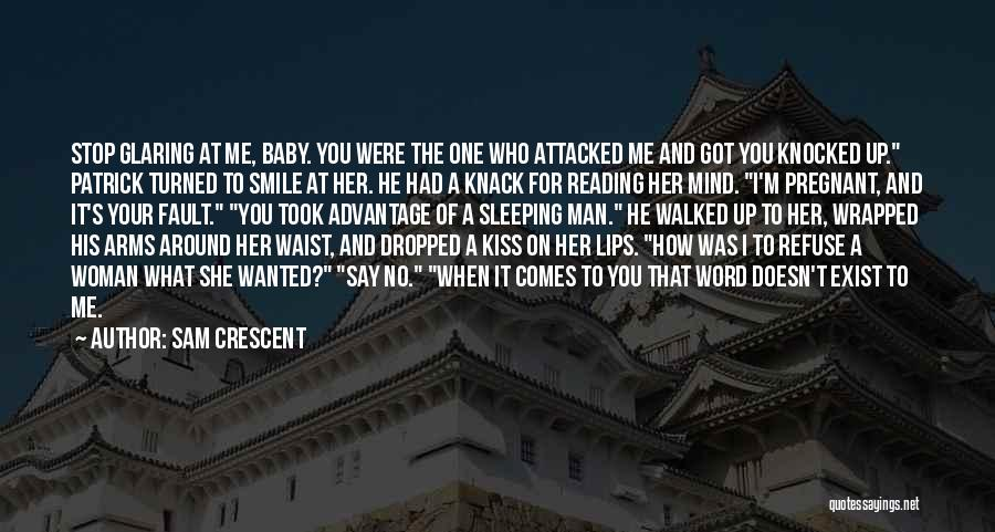 Sleeping With My Baby Quotes By Sam Crescent
