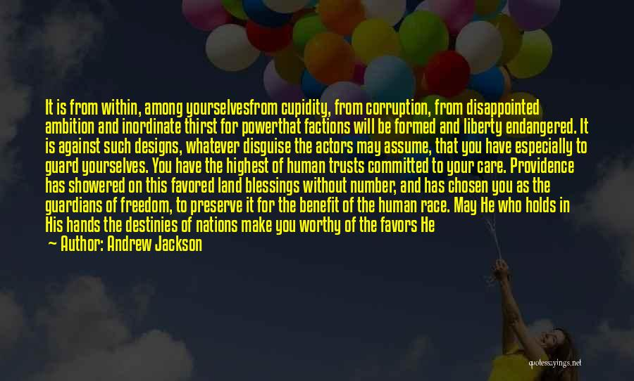 Sleepless Quotes By Andrew Jackson