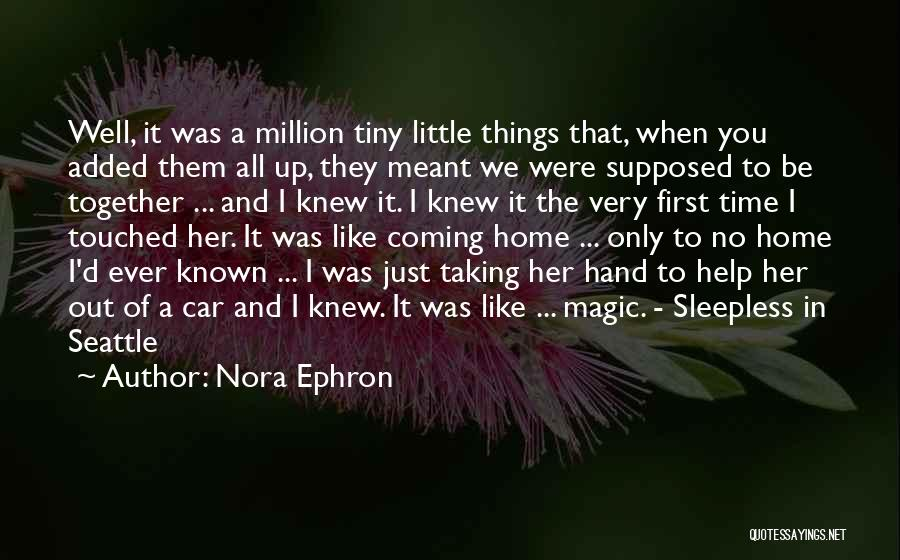 Sleepless Quotes By Nora Ephron