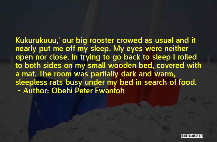 Sleepless Quotes By Obehi Peter Ewanfoh