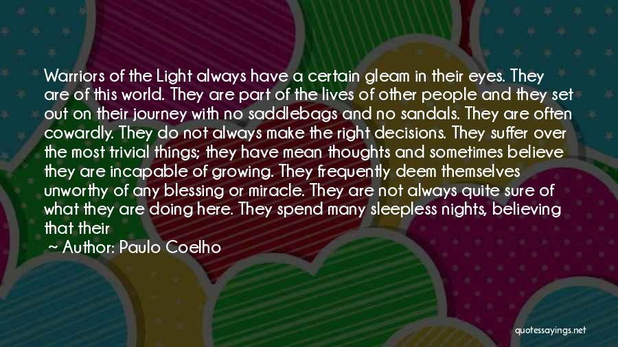 Sleepless Quotes By Paulo Coelho