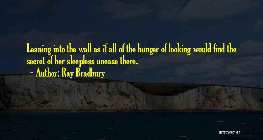 Sleepless Quotes By Ray Bradbury