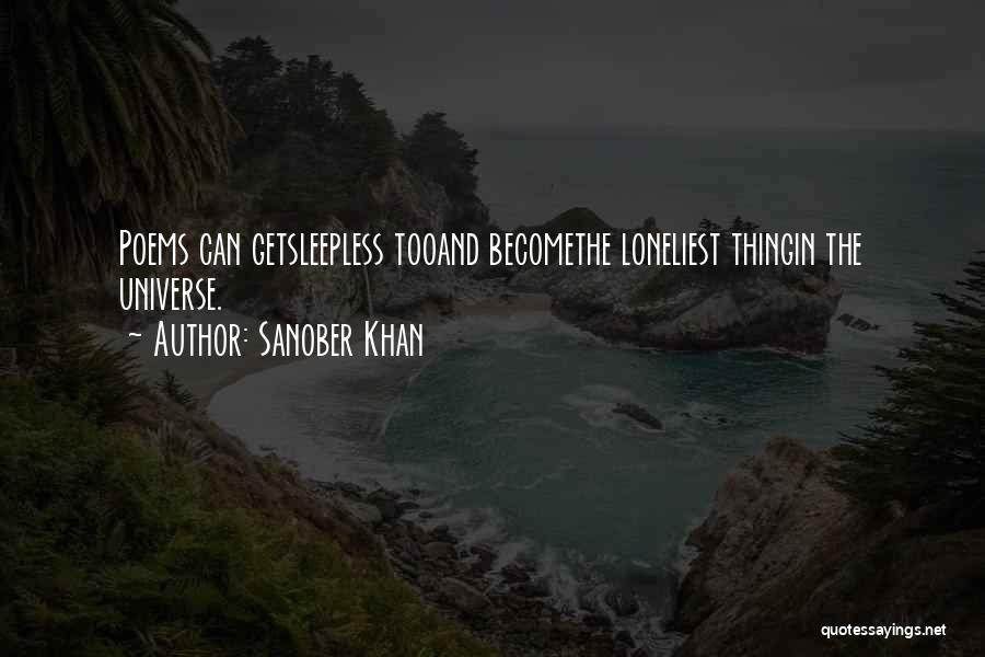 Sleepless Quotes By Sanober Khan