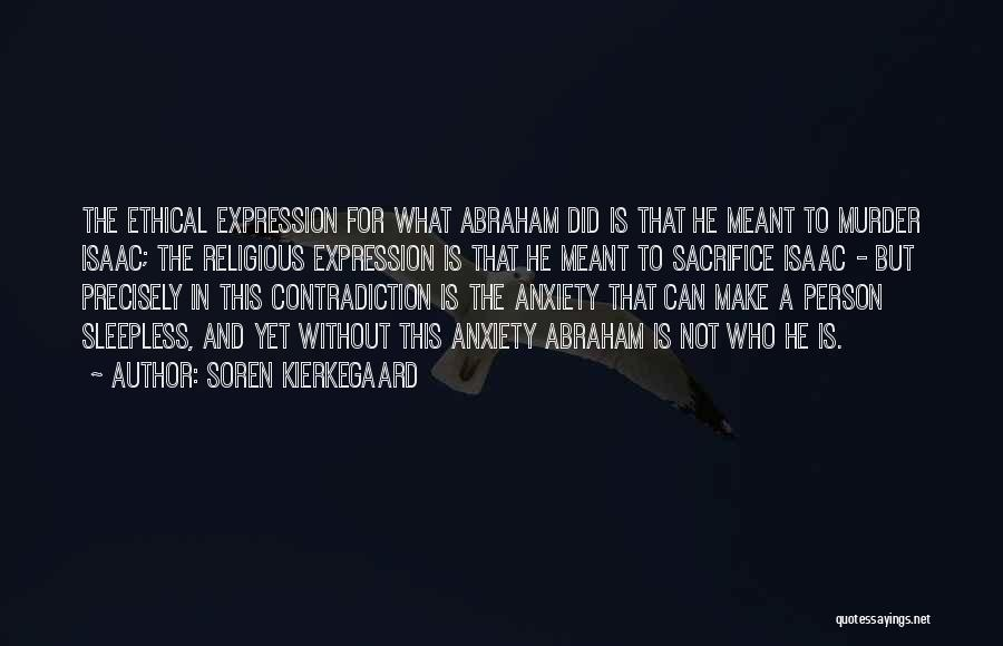 Sleepless Quotes By Soren Kierkegaard
