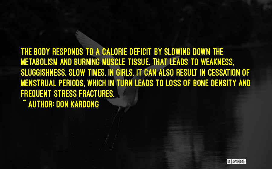 Slowing It Down Quotes By Don Kardong