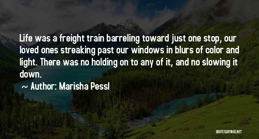Slowing It Down Quotes By Marisha Pessl