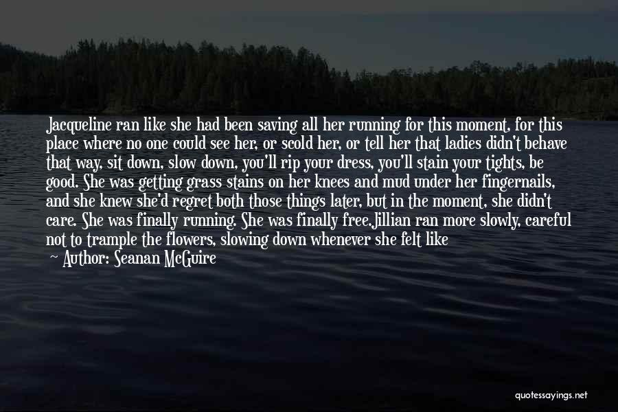 Slowing It Down Quotes By Seanan McGuire