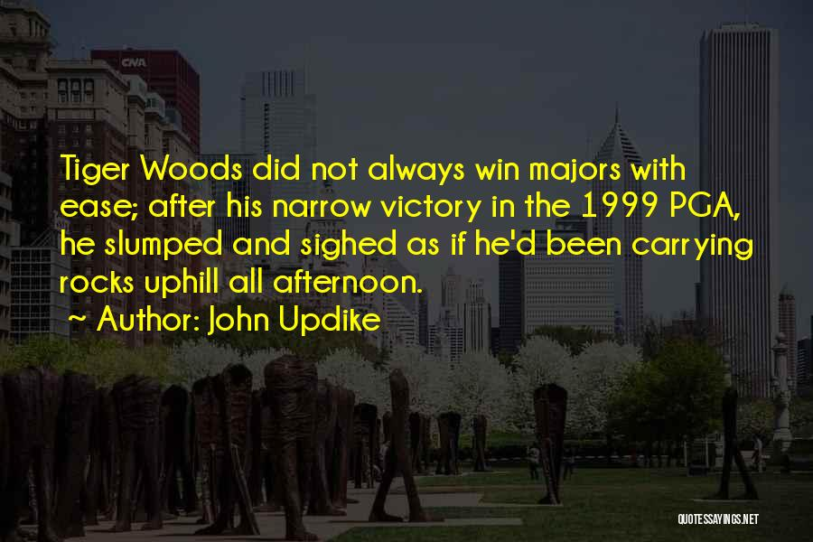 Slumped Quotes By John Updike