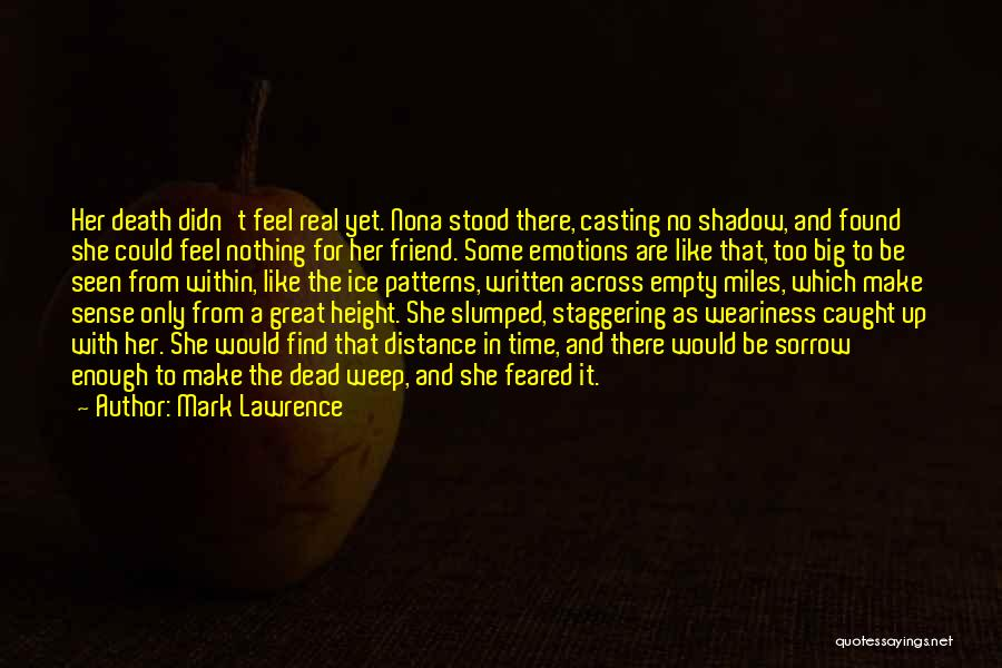 Slumped Quotes By Mark Lawrence