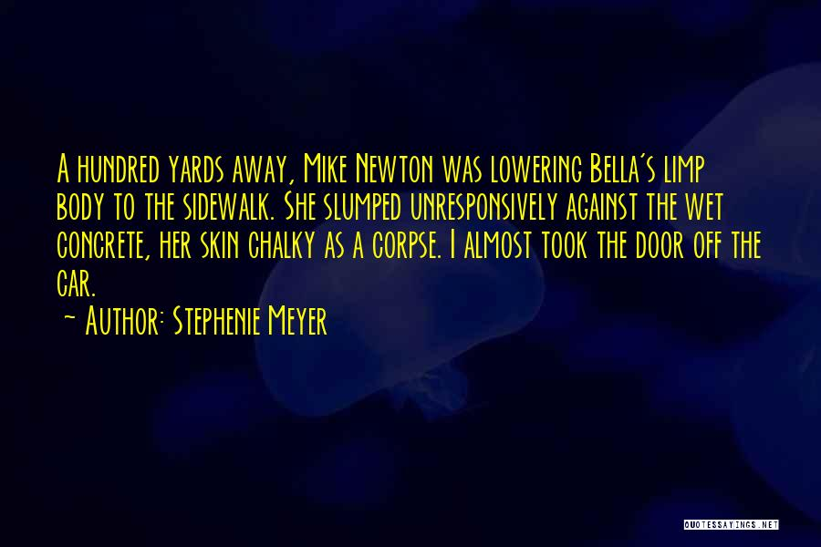 Slumped Quotes By Stephenie Meyer