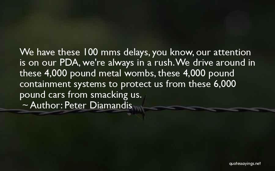 Smacking Someone Quotes By Peter Diamandis