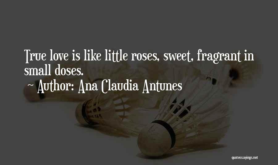 Small And Sweet Life Quotes By Ana Claudia Antunes