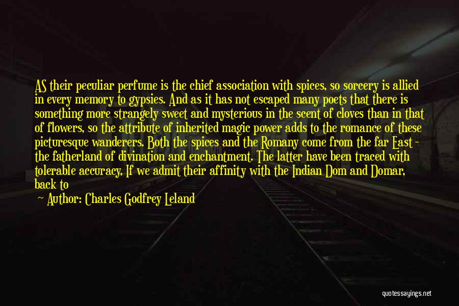 Small And Sweet Quotes By Charles Godfrey Leland