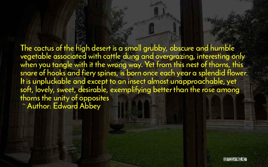 Small And Sweet Quotes By Edward Abbey