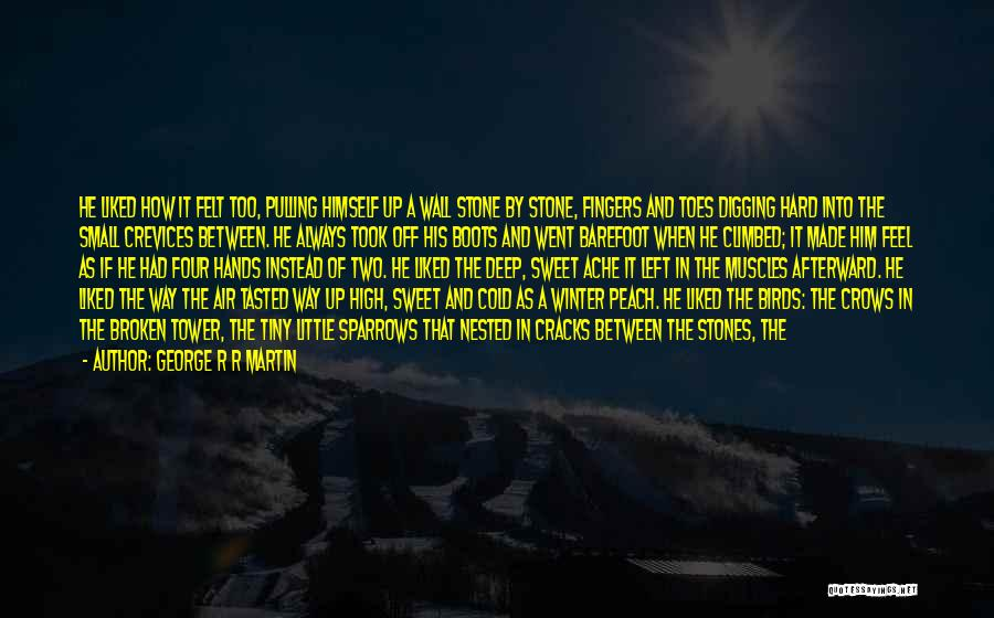 Small And Sweet Quotes By George R R Martin