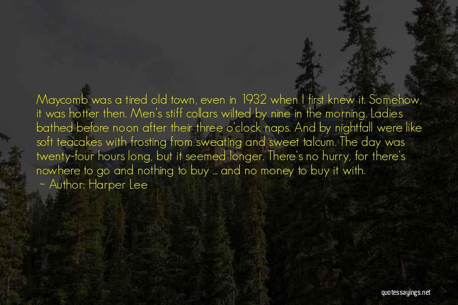 Small And Sweet Quotes By Harper Lee