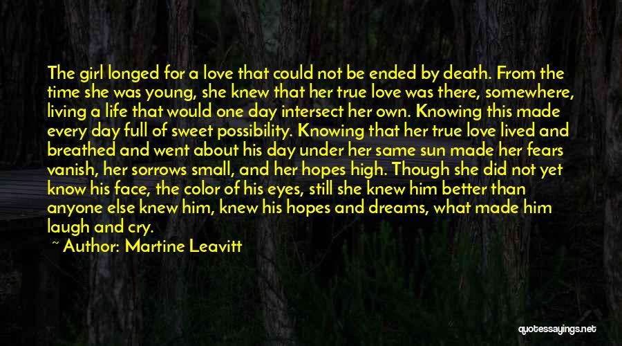 Small And Sweet Quotes By Martine Leavitt