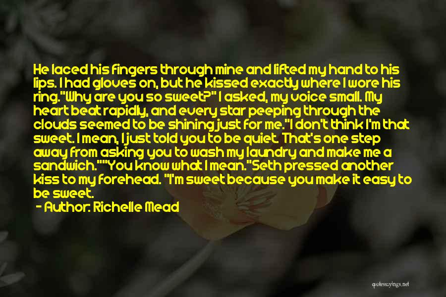 Small And Sweet Quotes By Richelle Mead